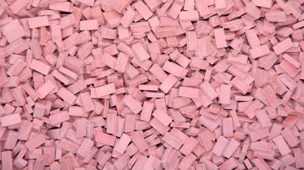 Juweela 28016 - H0 - ~3.000x Ziegel (NF) ziegelrot hell