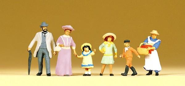 Preiser 12132 - H0 - Familie um 1900