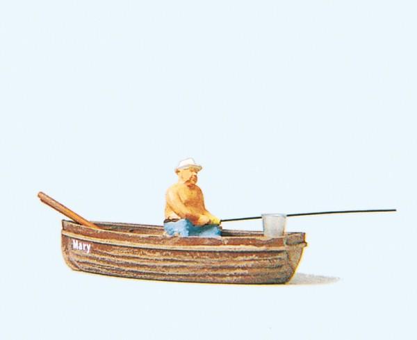 Preiser 28052 - H0 - Angler im Boot