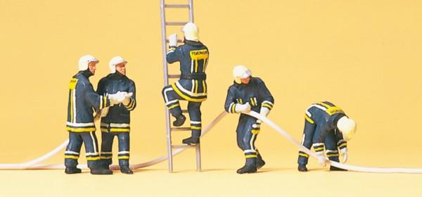 Preiser 10485 - Feuerwehrmänner in moderner Einsatzkleidung