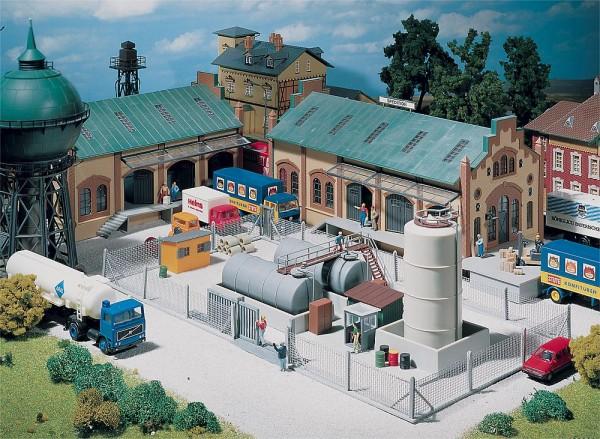 Faller 272420 - N - Industrie-Metallzaun, 37 cm