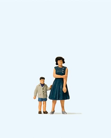 Preiser 28169 - H0 - Mutter und Sohn