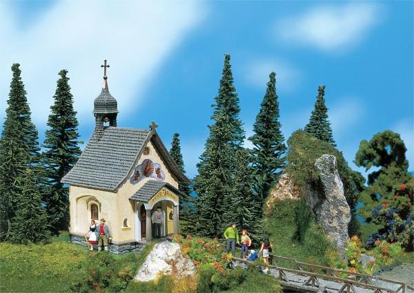 """Faller 232239 - N - Kapelle """"St. Bernhard, 5,3 x 3,5 x 6,6 cm"""