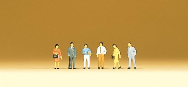 Preiser 79206 - Japanerinnen und Japaner