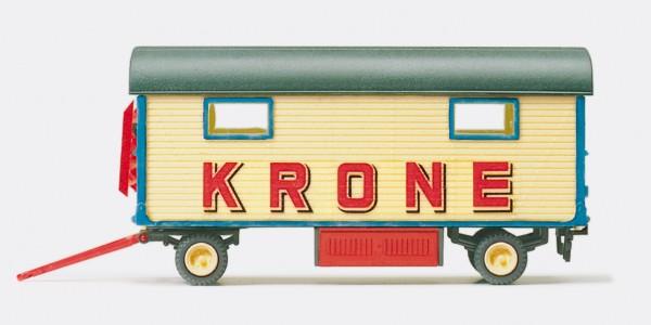 """Preiser 21017 - H0 - Packwagen """"Zirkus Krone"""" mit Fenstern"""