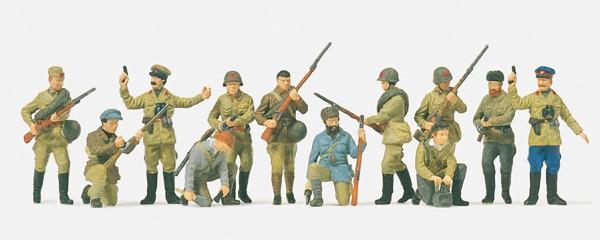 Preiser 16530 - H0 - Infanteristen und Partisannen