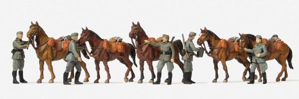 Preiser 16607 - H0 - Kavalleristen stehend