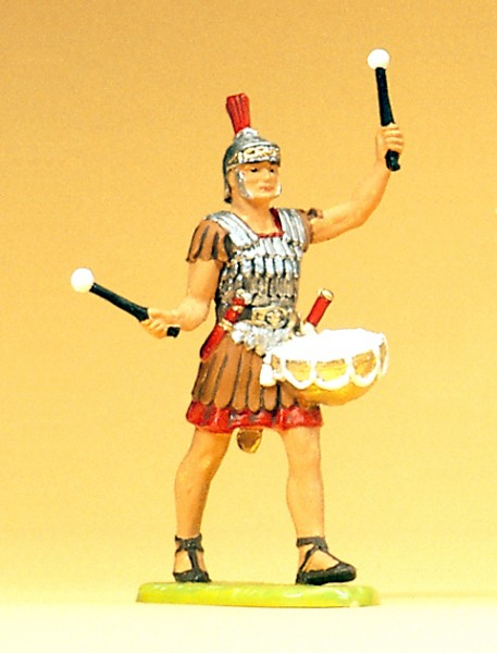Preiser 50205 - 1:25 - Römer im Marsch mit Trommel