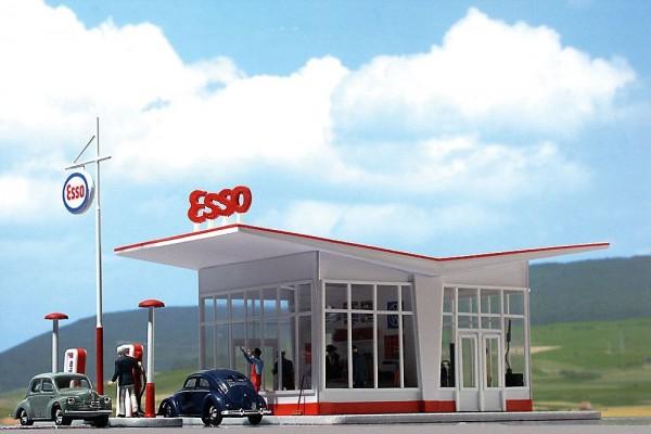 Busch 1005 - H0 - Tankstelle