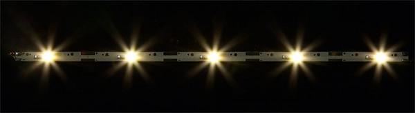 Faller 180654 - 2 LED-Lichtleisten, warm weiß