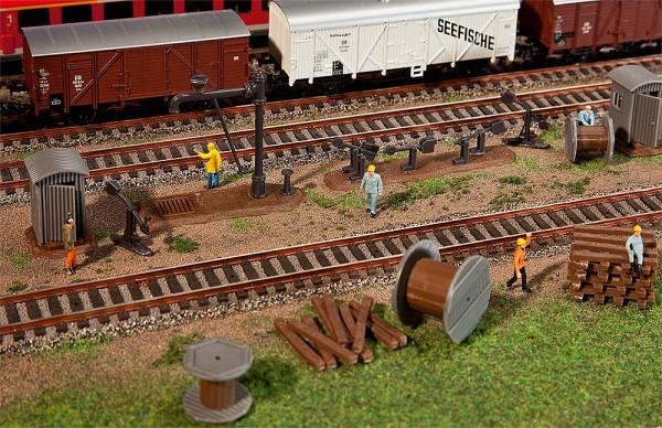 Faller 120141 - H0 - Ausschmückungsteile Bahnbereich