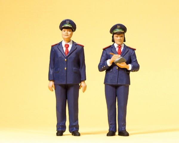 Preiser 45148 - G - Chinesisches Bahnpersonal