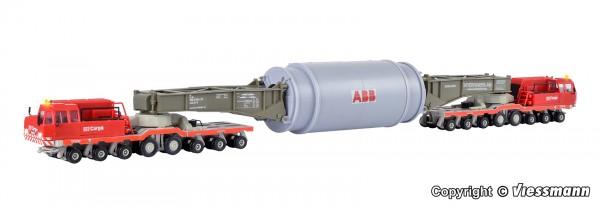 Kibri 13523 - H0 - DB Heuler Schwerlastselbstfahrer mit Ladegut Generatorstator
