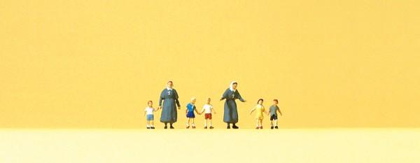 Preiser 88556 - Z - Diakonissen mit Kindern