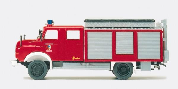 Preiser 31302 - H0 - Rüstwagen RW-Öl MAN 11.168 HALF