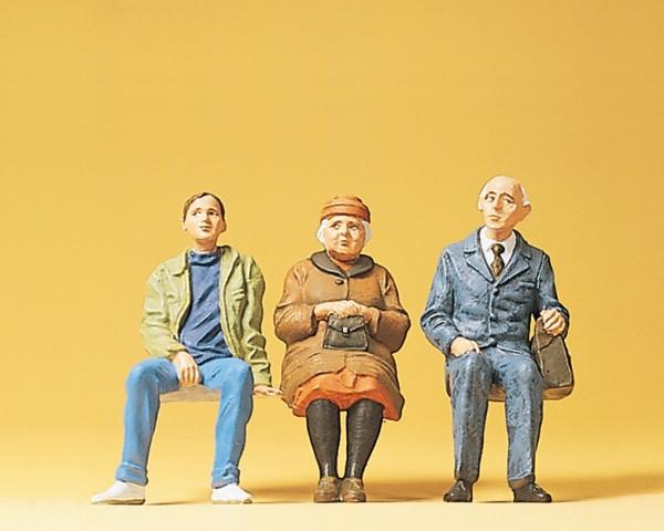 Preiser 45081 - G - Sitzende Personen