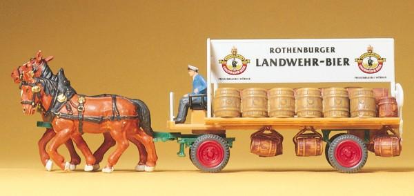 Preiser 30462 - H0 - Brauereiwagen