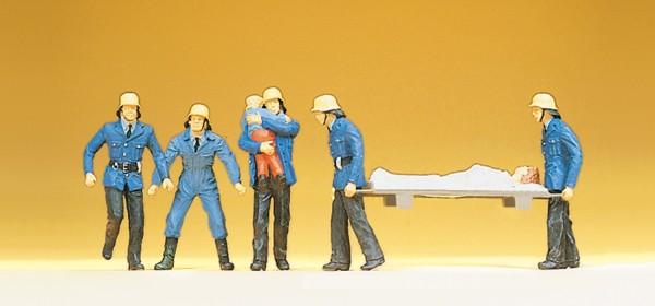 Preiser 14202 - H0 - Feuerwehrmänner