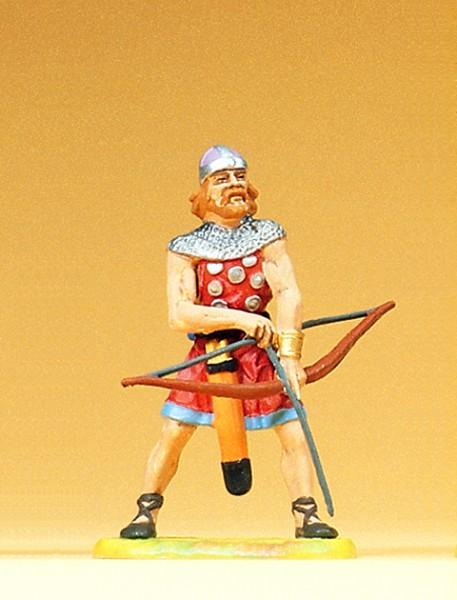 Preiser 50901 - Bogenschütze Pfeil und Bogen anlegend