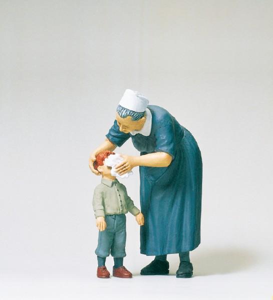 Preiser 45507 - G - Diakonisse mit Kind