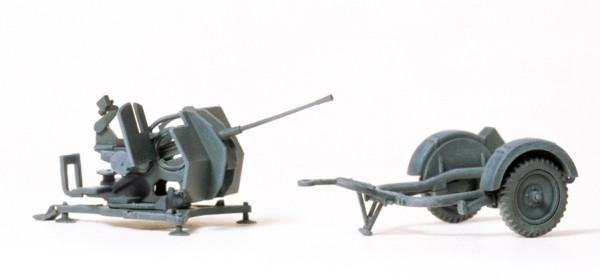 Preiser 16565 - H0 - 2 cm Flugabwehrkanone Flak 38