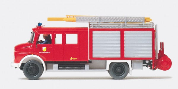 Preiser 35013 - H0 - Löschgruppenfahrzeug LF 16 MB LAF 1113 B/42