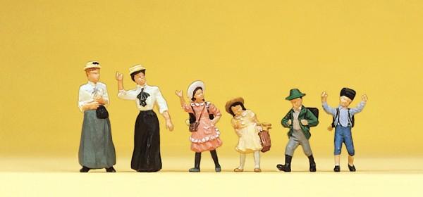 Preiser 12194 - H0 - Frauen und Kinder um 1900
