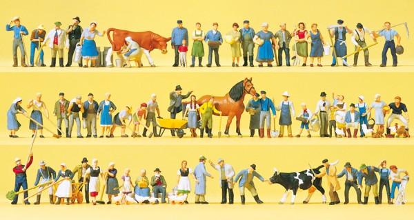 Preiser 13001 - H0 - Auf dem Bauernhof