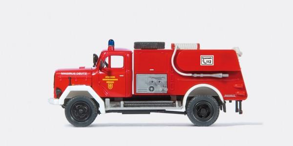 Preiser 31257 - Zumischerlöschfahrzeug ZLF 24 Magirus 150 D 10 A