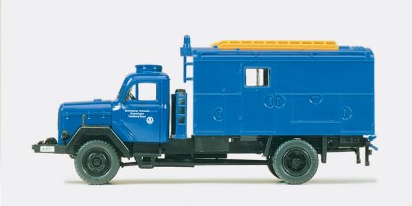Preiser 31306 - H0 - Gerätekraftwagen GKW THW