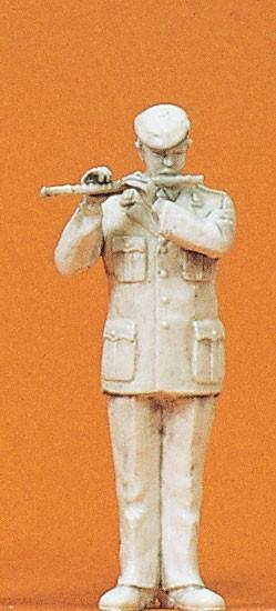 Preiser 64373 - 1:35 - Musiker mit Querflöte