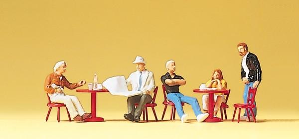 Preiser 10369 - H0 - Gäste im Straßencafé