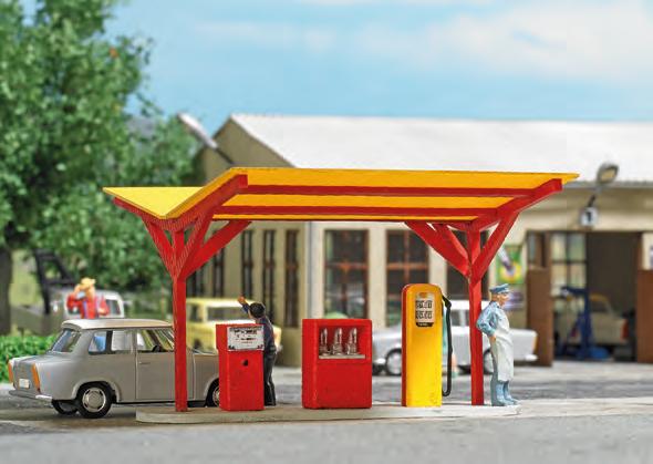 Busch 8810 - TT - Tankstelle »Minol«