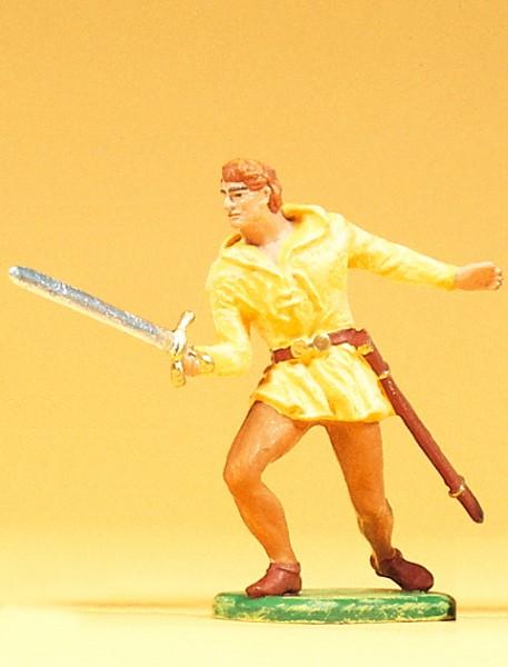 Preiser 51004 - Normanne kämpfend mit Schwert