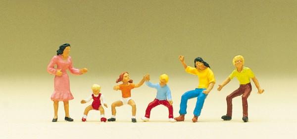 Preiser 24652 - Figuren im Karassell