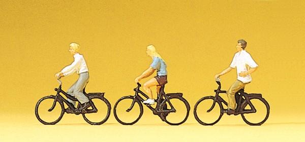 Preiser 10336 - H0 - Radfahrer