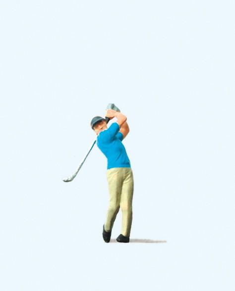 Preiser 29006 - H0 - Golfspieler