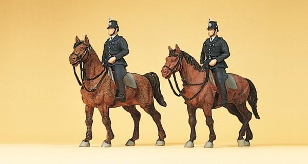 Preiser 10399 - H0 - Berittene Polizei Deutschland