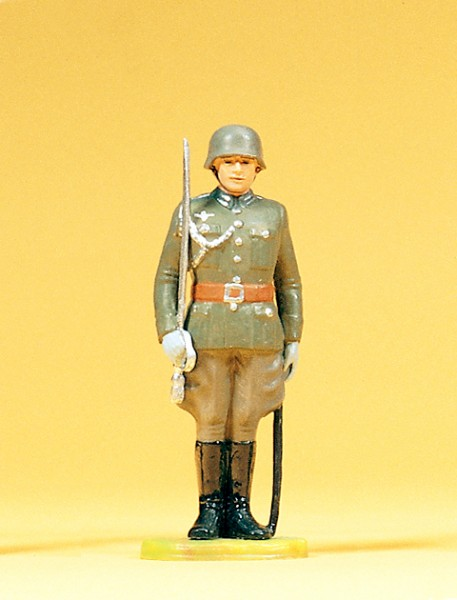 Preiser 56001 - Offizier stehend mit Degen