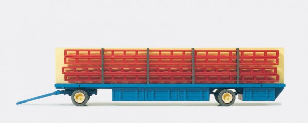 """Preiser 21024 - H0 - Masttransportwagen """"Zirkus Krone"""""""