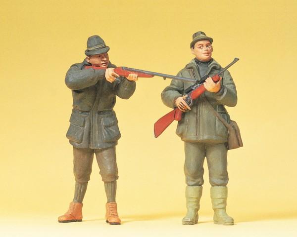 Preiser 45135 - G - Jäger stehend
