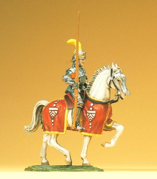 Preiser 52040 - Ritter reitend mit erhobener Lanze