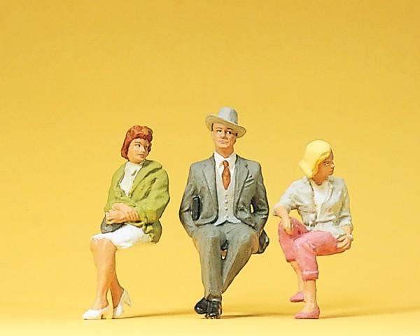 Preiser 45036 - G - Sitzende Personen