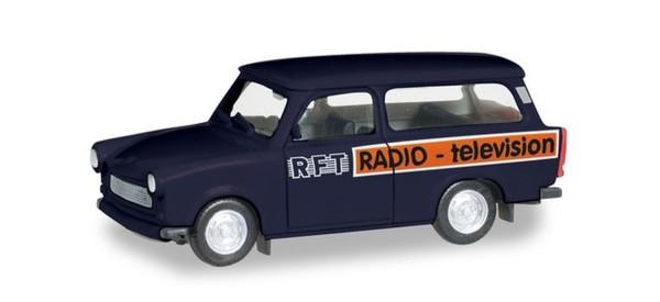 """Herpa 095167 - H0 - Trabant 601 Universal """"RFT Television"""" - ***Auslaufartikel***"""
