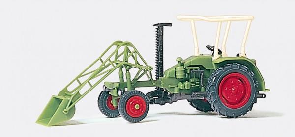 Preiser 17928 - H0 - Geräteträger mit Frontlader