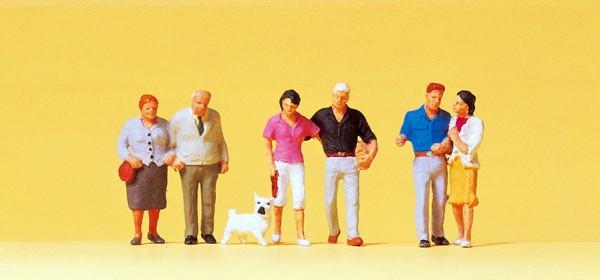 Preiser 10527 - H0 - Paare, Hund