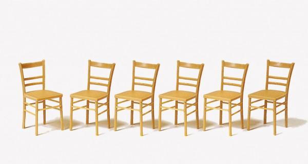 Preiser 45219 - G - Stühle 6 Stück