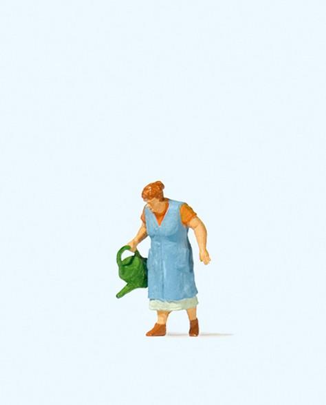Preiser 28207 - H0 - Oma beim Blumengießen