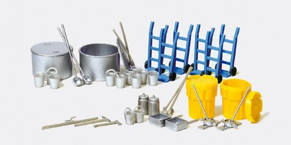 Preiser 31020 - H0 - Zurüstsatz Umwelt- und Chemieschutz