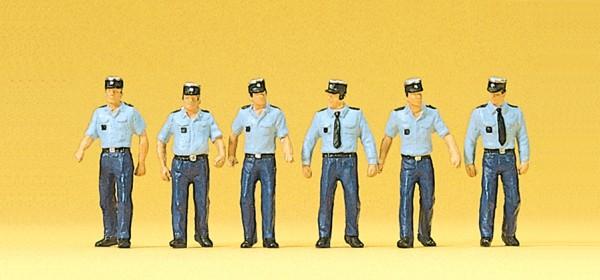 Preiser 10341 - H0 - Polizisten in Sommeruniform gehend